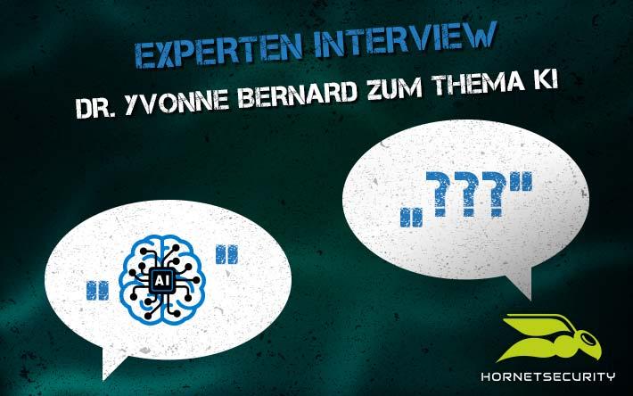 Experten-Interview: Dr. Yvonne Bernard über Künstliche Intelligenz