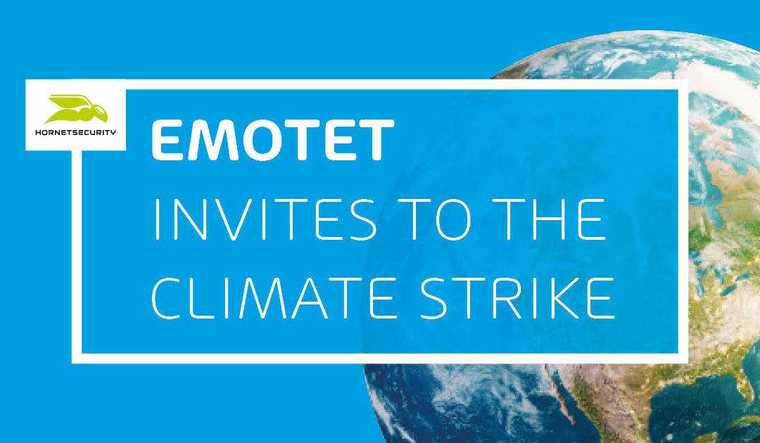 Los ciberdelincuentes difunden Emotet – en nombre de Greta Thunberg