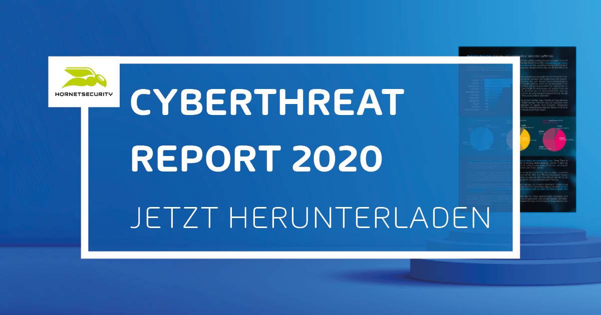 Cyberthreat Report 2020