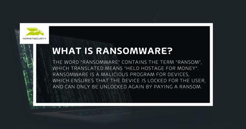 Was ist Ransomware - Begriffserklärung