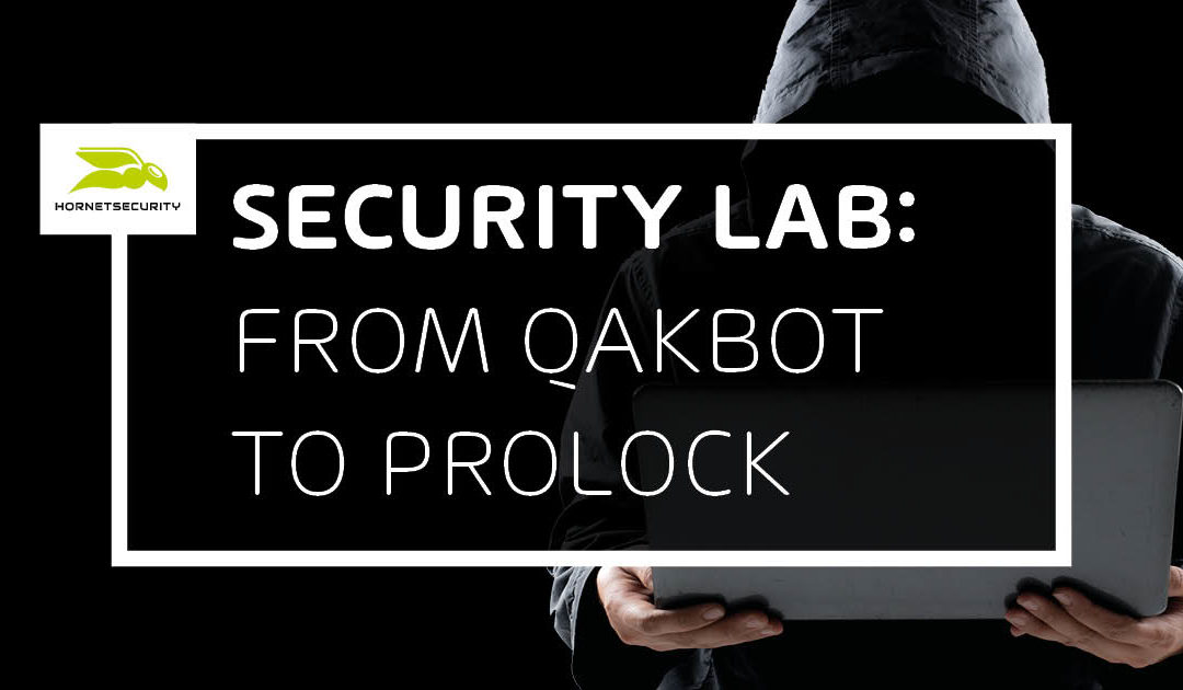 QakBot malspam leading to ProLock: Nothing personal just business