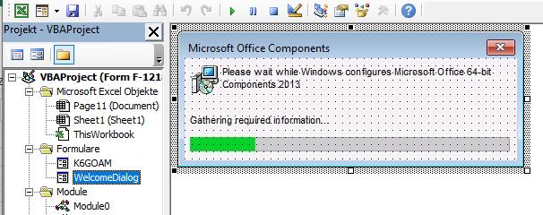 "Código VBA para la ventana falsa de ""Componentes de Microsoft Office"" en XLS de TA505"