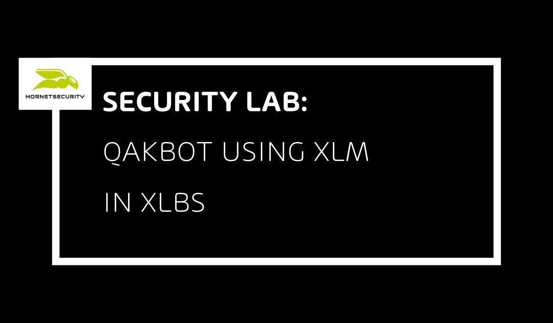 Qakbot es propagado a través de archivos XLSB