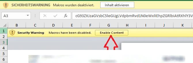 Deobfuscated VBA code of VBA purged malicious document variant 3